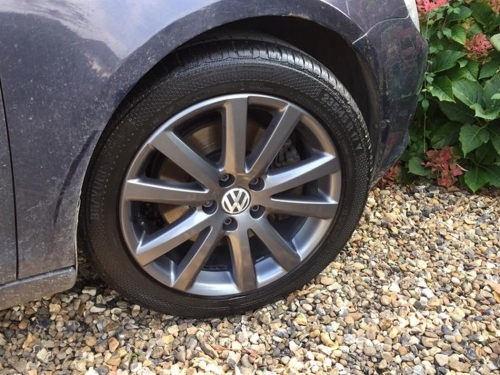 Vw Alloy Wheel Refurbishment
