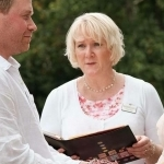 Yvonne Beck Wedding Celebrant handfasting