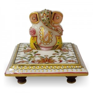 Marble Ganesh Statue - Send Spritual Gifts to India