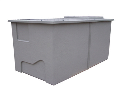 Insulated water tanks - for indoor or external applications with insulated wall thickness of 25mm, 50mm, 75mm, 100mm.