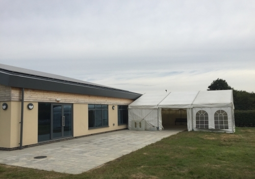 9m X 9m Joined to a Village Hall in Cambridgeshire