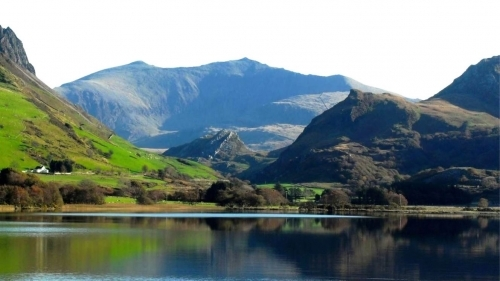Llyn Nantlle, 5 min drive from Ashcoast House