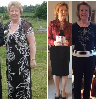 Testimonial Barbara Then Now 2 stone released.