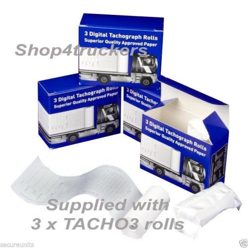 Truck lorry Digital tachograph 3 Rolls Digital Tachograph Tacho 3 superior paper 1 x box