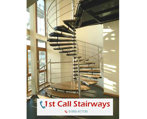 Commercial Spiral Staircases UK