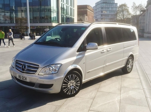 Mercedes Viano for up to seven passengers