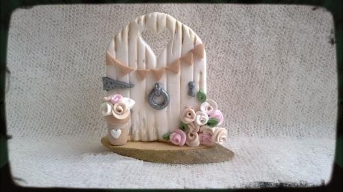 Personalised Wedding Fairy Door
