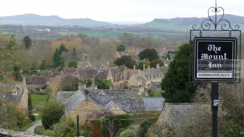 View From The Mount Pub At Stanton - Cotswold Tours CCT (www.CotswoldTours.com)