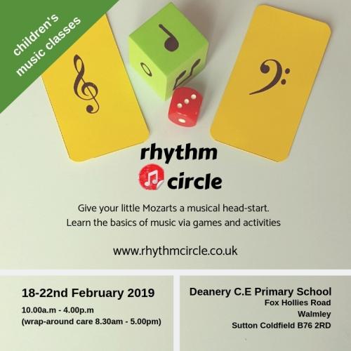 RhythmCircle February half term Holiday Club