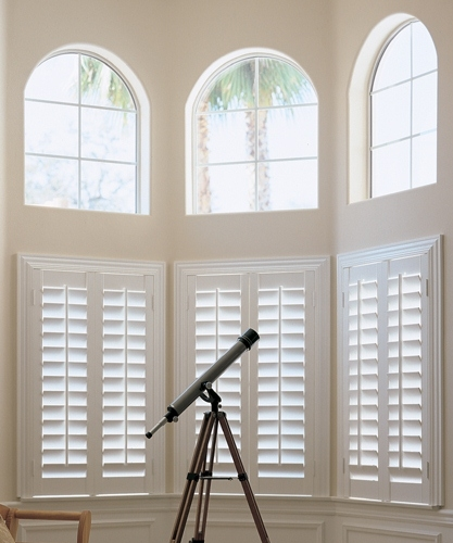 Full height, central tilt shutters