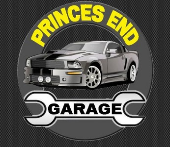 Princes End Garage Logo