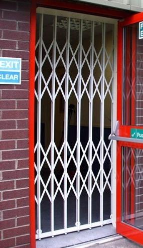 Crossguard Cx1 On A Fire Exit