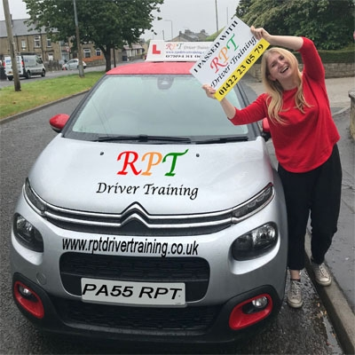 RPT  Driver Training Driving Lessons Halifax Sarah Hutson