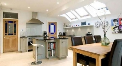 Kitchen Side Extension