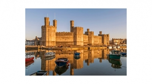 Caernarfon Castle As Ping