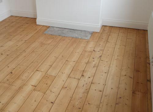 Natural Pine Floorboards