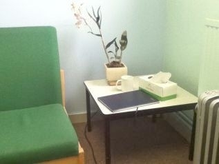One of the counselling rooms.