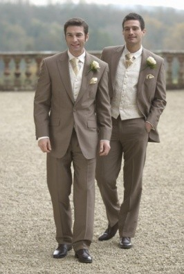Sand Mohair Lounge Jackets