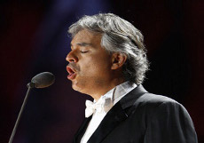 Andrea Bocelli Concert in Tuscany