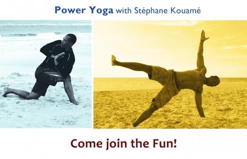 Power Yoga with Stephane Kouame - stefkouam@gmail.com