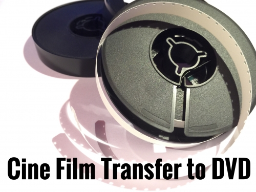 8mm Cine Film Transfer to DVD or Digital File