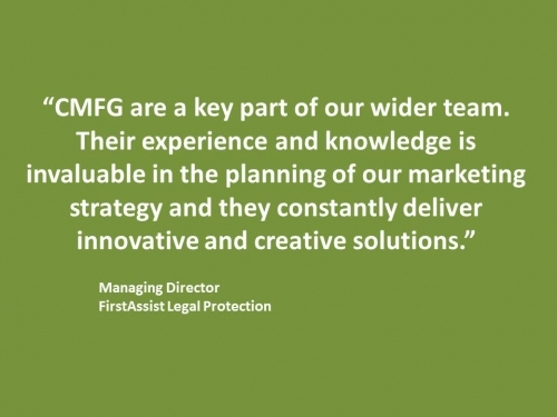 Firstassist CMFG Testimonial - Managing Director