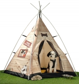 In The Dog House tent design