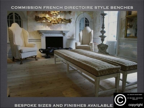 Bespoke benches many variations available. www.bespokefurnituremakers.company