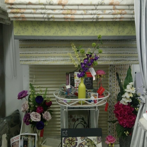 Victoria Scarlet Blinds and Interiors, The Borough Yard, Wedmore