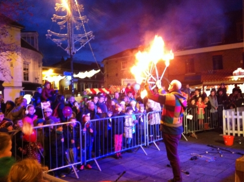 Fire Juggling in Hertfordshire