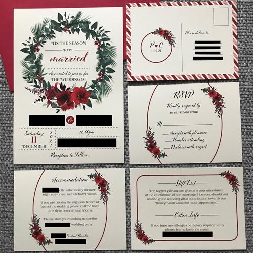 Wedding Stationery Design And Print