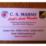 C S Marsh Plumbing And Heating Services