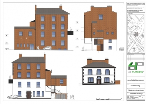 Stockport Council Conversion To Flats Change Of Use