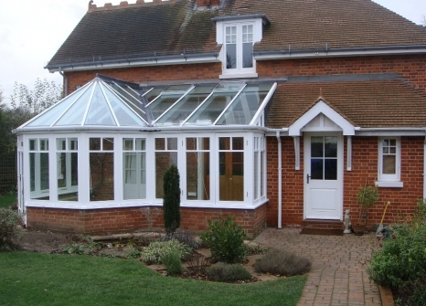 'P' Shaped Conservatory