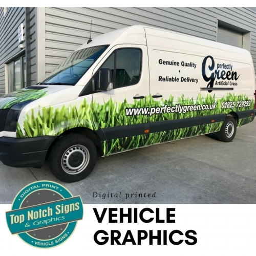 Perfectly Green van by Top Notch