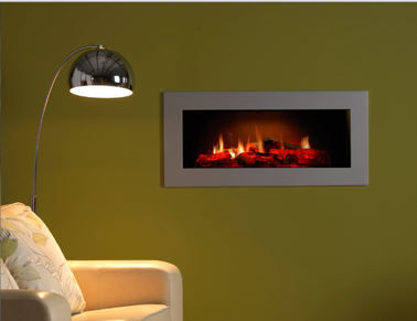 Burley Opti-V hole in the wall electric fireplace