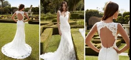 Enzoani wedding dress at our Bridal shop
