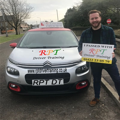 RPT Driver Training Driving Lessons Halifax Jordan Penny