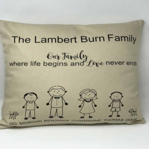 Personalised Cushions UK