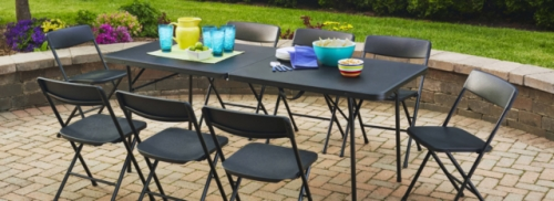 table chairs hire