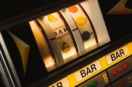 Authentic One arm Bandit Slot machines