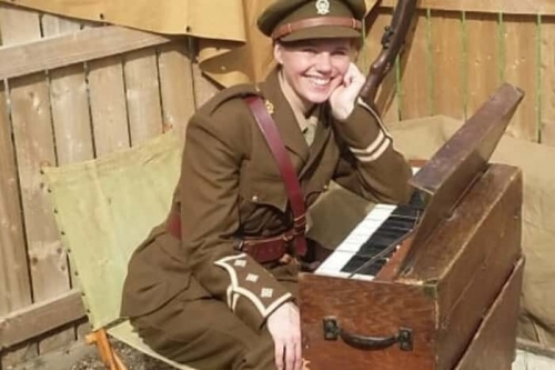 Rare WWI Trench Organ available for hire