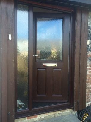 Rosewood door and side panel in stowmarket
