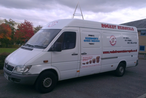 Rocket Van for very small moves