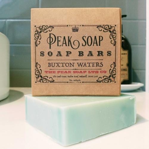 Buxton Waters Handmade Soap Bar Peak Soap UK