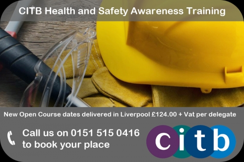 CITB Health and Safety Awareness training – the first step to obtain your CSCS Green Labourers Card.