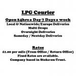 LPG Courier