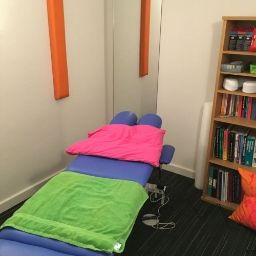 A Treatment Room At Reflex Spinal Health In Reading Berkshire