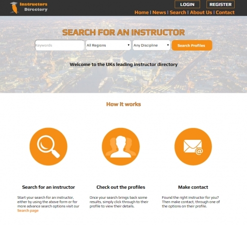 Instructors Directory - Homepage