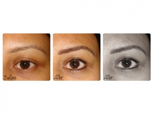 Semi Permanent Eyebrows And Eyeliner By El Truchan